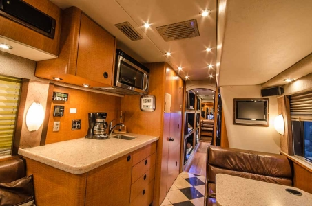 Band Tour Bus Rentals