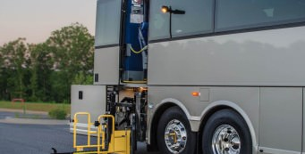 Wheelchair Accessible Charter Bus