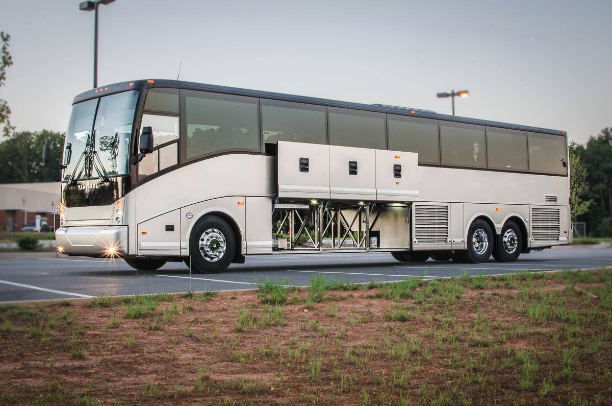chartered bus service