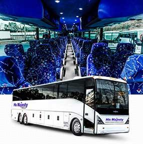 His majesty coach charter tour bus company for Atlanta motor coach companies